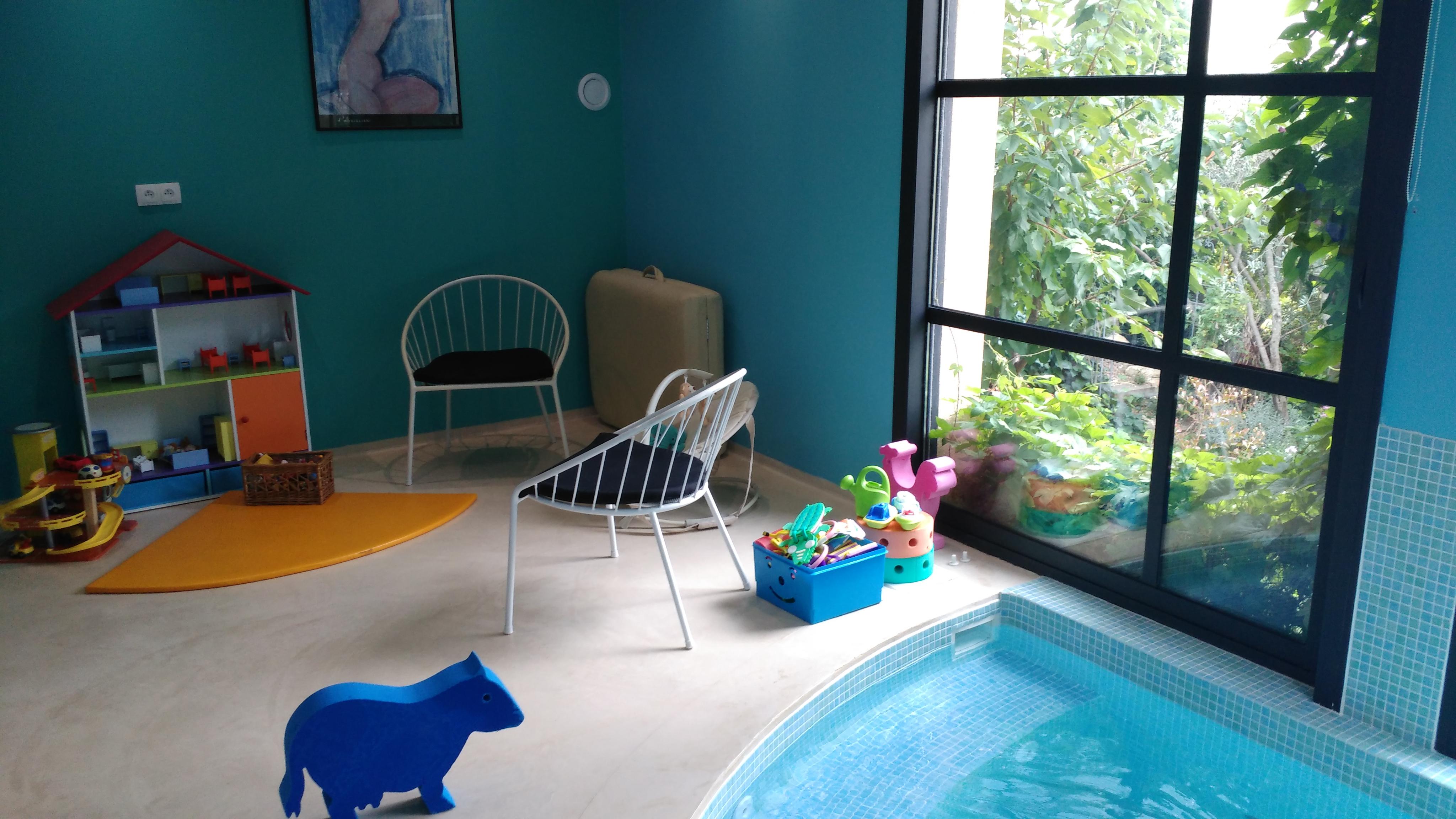 Thérapie m¨re et enfant dans l eau Le Jardin aquatique